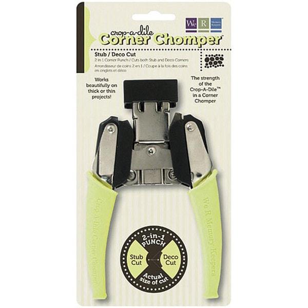 Crop-A-Dile Stub/ Deco Cut Corner Chomper Tool