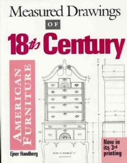 Measured Drawings of Eighteenth-Century American Furniture (Paperback)
