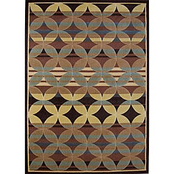 Multicolored Mesa Rug (5'3 x 7'2)