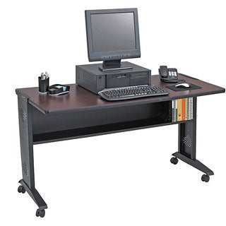 Safco 54-inch Reversible Top Mobile Computer Desk
