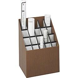 Safco 20-compartment Upright Roll File