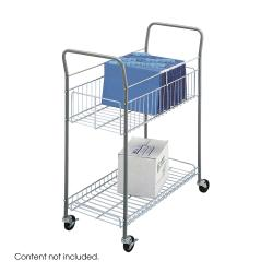 Safco Wire Mail Cart