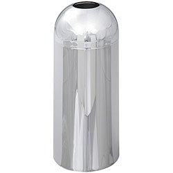 Safco Reflections Open Top Trash Bin