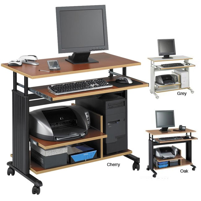 Safco MUV Adjustable Height Computer Workstation