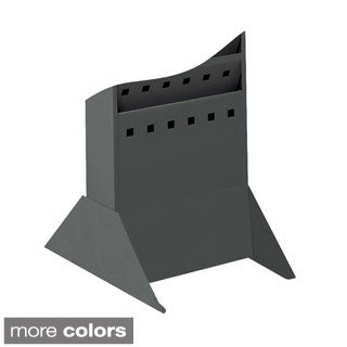 Safco Base for Steel Magazine Rack, Black-BL, Gray-GR