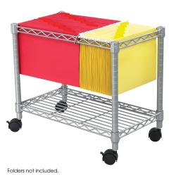 Safco Wire Mobile File Tub