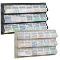 Plastic Safco Clear 18-pocket Compartment Panel Craft Storage Bin