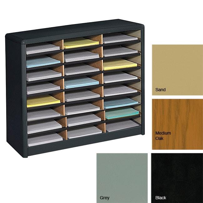 Safco 24-compartment Literature Organizer