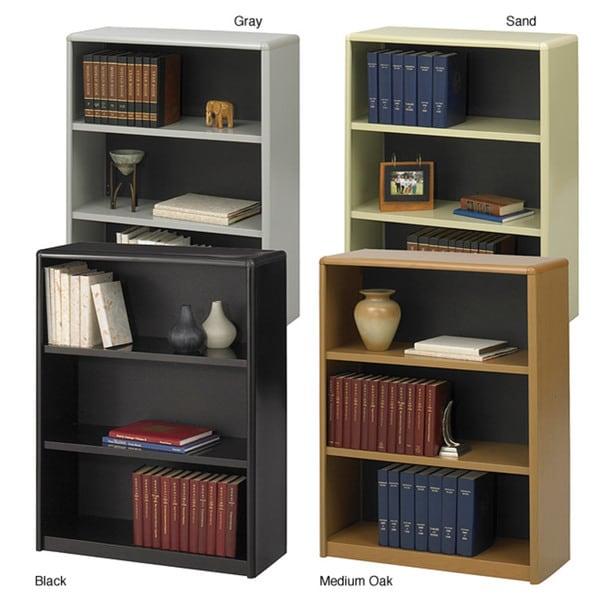Safco Value Mate Steel 3-shelf Bookcase