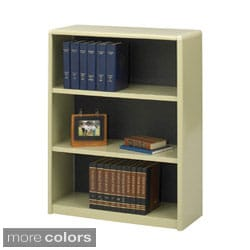 Safco Value Mate Steel 3-shelf Bookcase