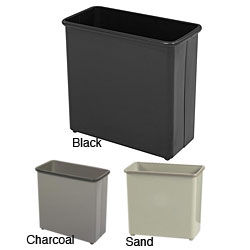 Safco Rectangular Medium Wastebaskets (Pack of 3)