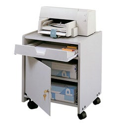 Safco Grey Machine Floor Stand