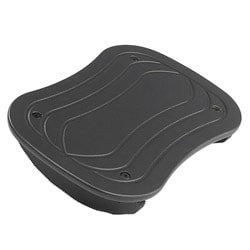 Safco Black Foot Rocker Foot Rest (Pack of 5)