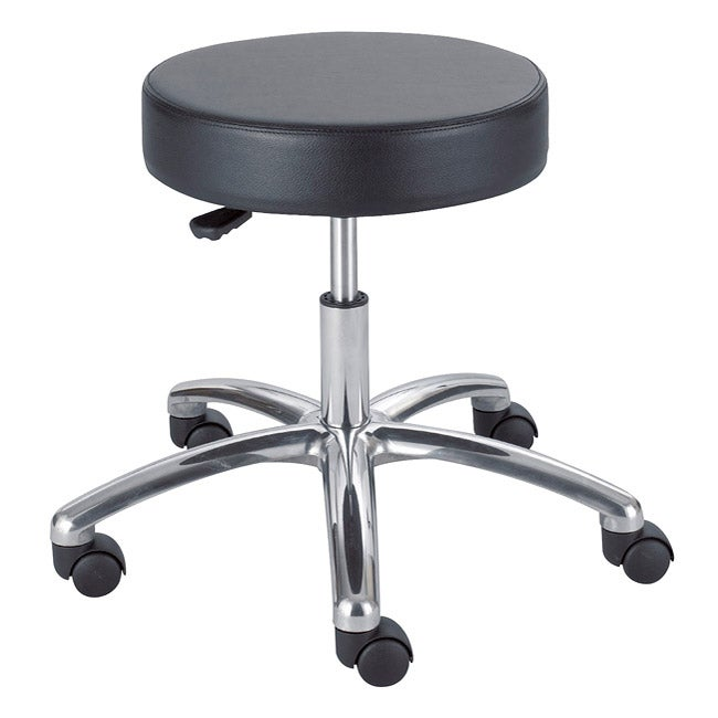 Safco Pneumatic Black Lab Stool
