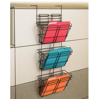 Safco PanelMate Triple File Basket (Pack of 6)
