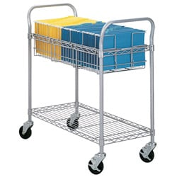Safco Grey 36-inch Mail Cart