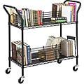 Safco 4-shelf Wire Book Cart