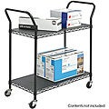 Safco 2-shelf Wire Utility Cart