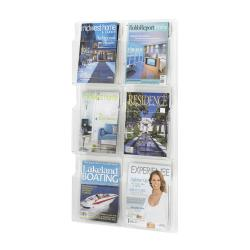 Safco Reveal 6 Magazine Vertical Display