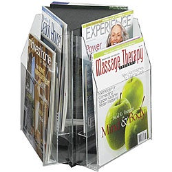 Safco Reveal Tabletop 6-pocket Magazine Display