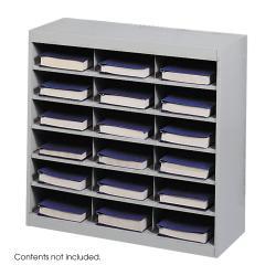 Safco 18 Compartment E-Z Stor Project Organizer