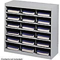 Safco 18 Compartment E-Z Stor Project Organizer