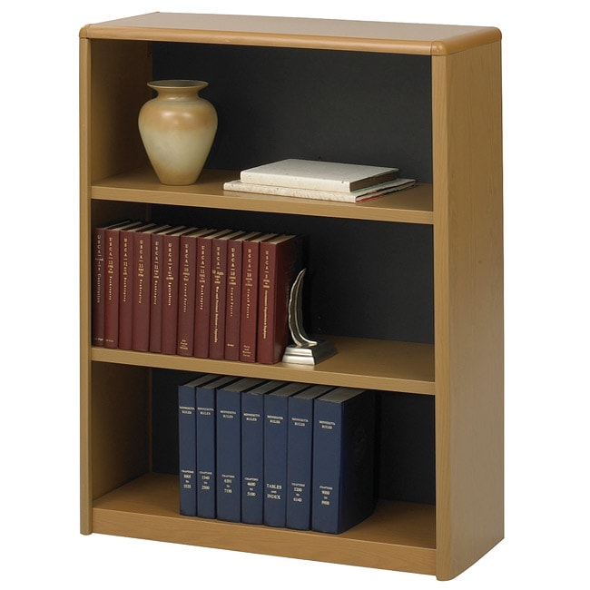 Safco ValueMate 3-shelf Steel Bookcase