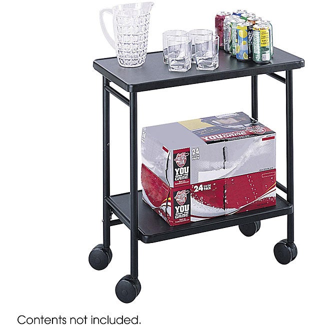 folding cart with shelves 1