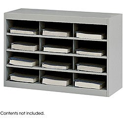 Safco 12-Compartment E-Z Stor Project Organizer