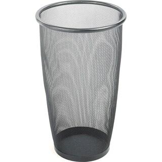 Safco Large Round Mesh Wastebaskets (Case of 3)