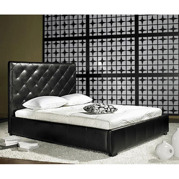 Bentley Bonded Leather Queen Bed
