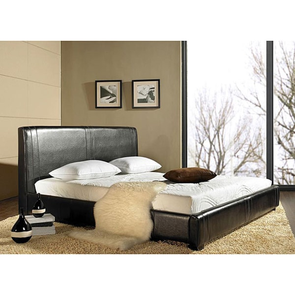 Lexington Bonded Leather Queen-size Bed