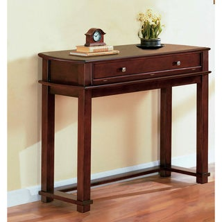 Flip-top Cherry Veneer Sofa Table