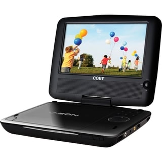 Coby 10.2inch Widescreen TFT Portable DVD/CD/MP3 Player with Swivel Screen