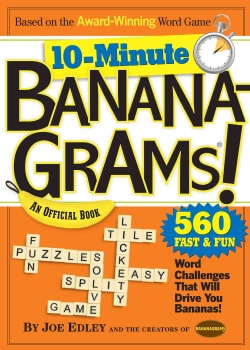 10-Minute Bananagrams!: An Official Book (Paperback)