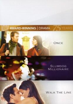 Once / Slumdog Millionaire / Walk The Line (DVD)