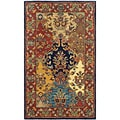 Safavieh Handmade Heritage Heirloom Multicolor Wool Rug (2' x 3')