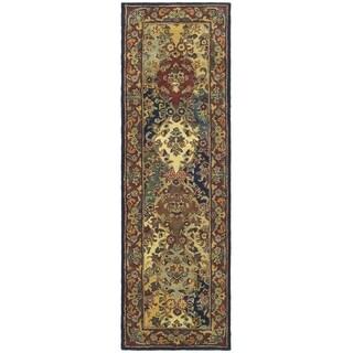 Safavieh Handmade Heritage Heirloom Multicolor Wool Runner (2'3 x 10')
