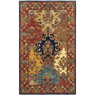 Safavieh Handmade Heritage Heirloom Multicolor Wool Rug (4' x 6')