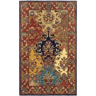 Safavieh Handmade Heritage Heirloom Multicolor Wool Rug (4' x 6')