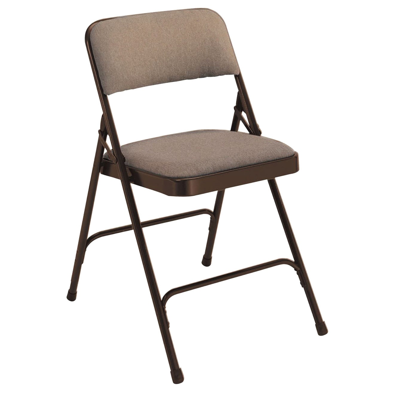 national public seating national public seating fabric upholstered premium folding chairs pack of 4 - National Public Seating