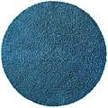 Hand-woven Blue Chenille Shag Rug (5' Round)