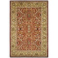 Safavieh Handmade Heritage Treasures Red/ Gold Wool Rug (8'3 x 11')