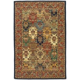 Safavieh Handmade Heritage Heirloom Multicolor Wool Rug (5' x 8')