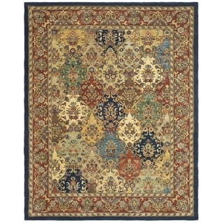 Handmade Heritage Heirloom Multicolor Wool Rug (6' x 9')