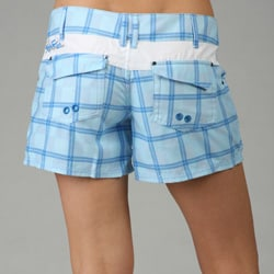 Jet Pilot Juniors Plaid Board Shorts