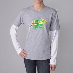 Jetpilot Men's Grey Logo Tee