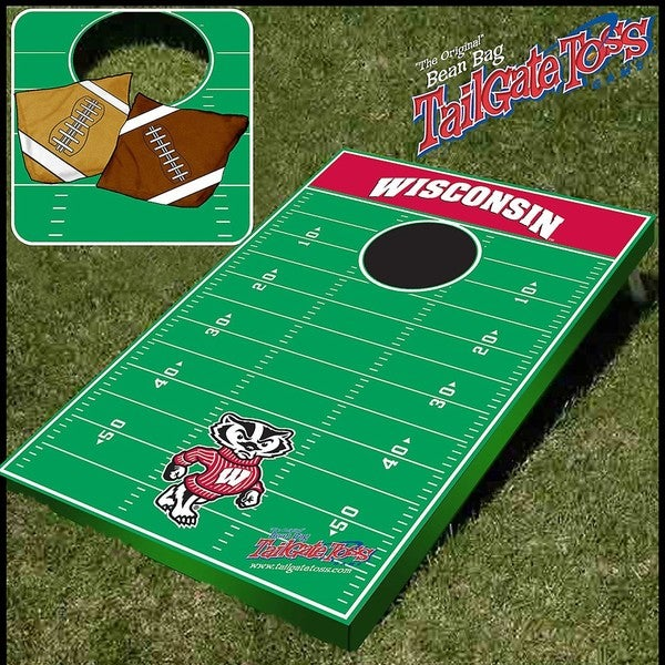 NCAA Wisconsin Badgers Tailgate Toss Game