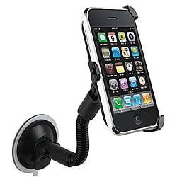 Black Windshield Mount Holder for Apple iPhone 3G/3GS