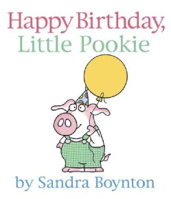 Happy Birthday, Little Pookie (Board book)